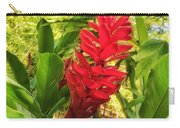 Coral Flower Carry-all Pouch