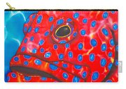 Coral Groupper II Carry-all Pouch by Daniel Jean-Baptiste