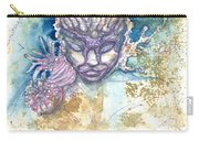 Coral Head Carry-all Pouch by Ashley Kujan