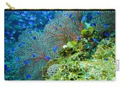 Coral In Truk Carry-all Pouch