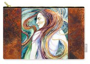 Coral Mermaid Carry-all Pouch