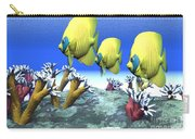 Coral Moods Carry-all Pouch by Corey Ford