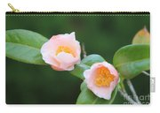 Coral Camellia 2 Carry-all Pouch