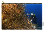 Coral Reef And Diver  Carry-all Pouch