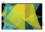 Coral Reef Polygon Pattern Carry-all Pouch