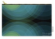 Coral Reef Semi Circle Background Horizontal Carry-all Pouch