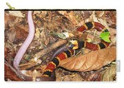 Coral Snake Snack Carry-all Pouch