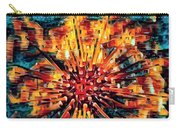 Corals Under The Sea Abstract Color Art Carry-all Pouch
