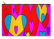 Corazones Carry-all Pouch