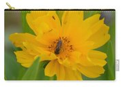 Coreopis Honey Bee Carry-all Pouch