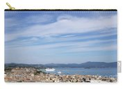 Corfu Town And Port With Cruiser Cityscape Carry-all Pouch