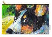 Corgi Dog Portrait Carry-all Pouch