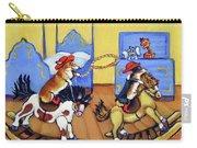 Pembroke Welsh Corgi Rainy Day Cowboys Carry-all Pouch