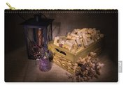Cork Basket Candle Lamp Carry-all Pouch