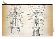 Cork Extractor Patent  1930 Carry-all Pouch