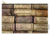 Corks Of French Wine Carry-all Pouch