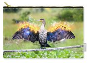 Cormorant Dries Its Wings Carry-all Pouch
