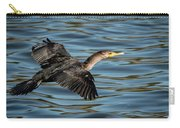 Cormorant In Flight Carry-all Pouch