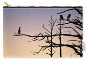 Cormorant Sunset Carry-all Pouch