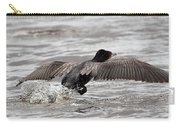 Cormorant Taking To The Air Carry-all Pouch