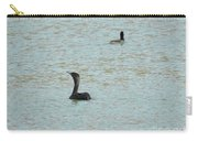 Cormorants On The Lake Carry-all Pouch