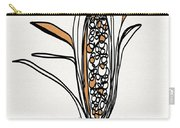 corn- contemporary art by Linda Woods Carry-all Pouch