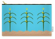 Corn Rows Carry-all Pouch