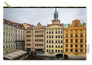 Corner Buildings In Prague Carry-all Pouch