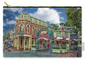 Corner Cafe Main Street Disneyland 01 Carry-all Pouch
