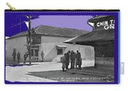 Corner Of Meyer And Convent Barrio Burton Frasher Photo Tucson Arizona 1938 Color Added 2016 Carry-all Pouch