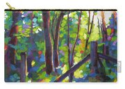 Corner Post Carry-all Pouch by Mary McInnis
