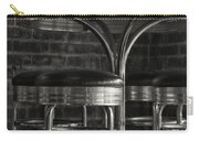 Corner Table - Black And White Carry-all Pouch