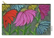 Cornflowers In Bloom Carry-all Pouch