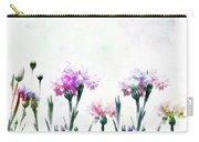 Cornflowers Watercolor  Carry-all Pouch