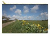 Cornish Daffodil Hedge Carry-all Pouch