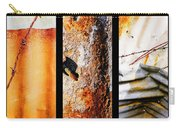 Corrugated Iron Triptych #10 Carry-all Pouch