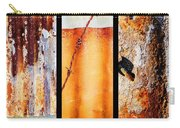 Corrugated Iron Triptych #8 Carry-all Pouch