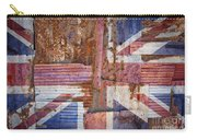 Corrugated Iron United Kingdom Flag Carry-all Pouch