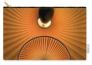 Corrugations In Orange Carry-all Pouch