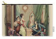 Corset Trade Card, 1912 Carry-all Pouch