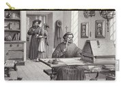 Cosimo Medici Sitting In His Home In Florence Carry-all Pouch