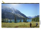Cosley Ridge Over Cosley Lake - Glacier National Park Carry-all Pouch