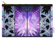 Cosmic Collage Mosaic Left Mirrored Carry-all Pouch