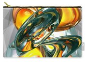Cosmic Flame Abstract Carry-all Pouch