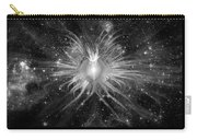 Cosmic Heart Of The Universe Bw Carry-all Pouch