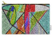 Cosmic Lifeways Mosaic Carry-all Pouch
