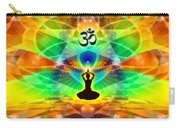 Cosmic Spiral 69 Painted Carry-all Pouch by Derek Gedney