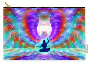 Cosmic Spiral 72 Painted Carry-all Pouch by Derek Gedney