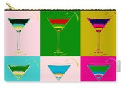 Cosmopolitan Pop Art Panels Carry-all Pouch
