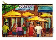 Cosmos  Fameux Restaurant On Sherbrooke Carry-all Pouch
